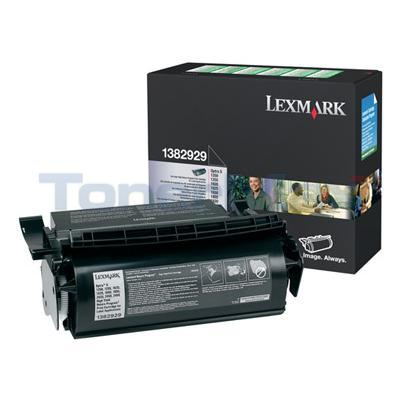 LEXMARK OPTRA S1250 PRINT CTG LABEL APP BLACK RP 17.6K